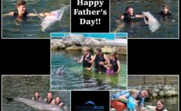 Celebrate Fathers Day at Dolphins Plus!!